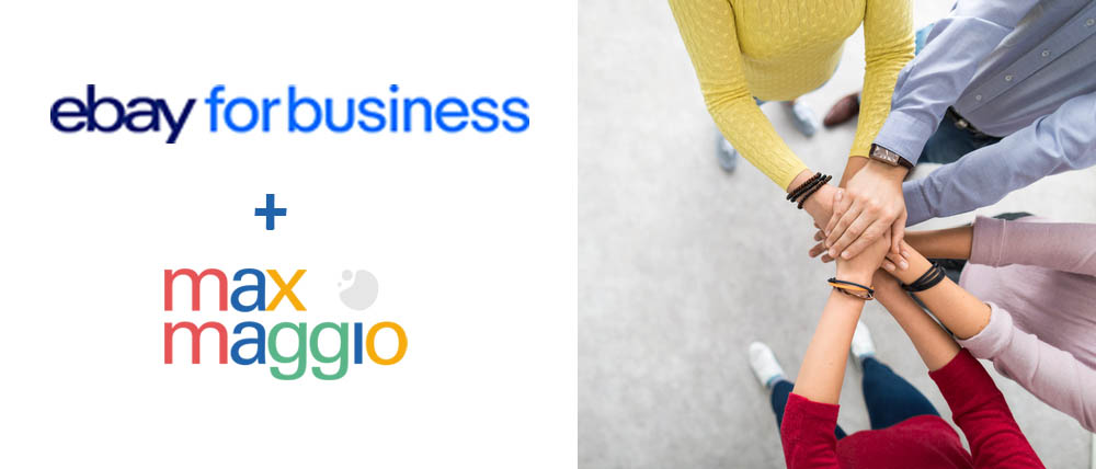 partnership eBay for Business IT + Max Maggio